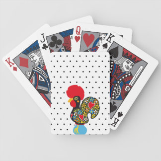 Famous Rooster of Barcelos Nr 06 - Polka Dots Bicycle Playing Cards