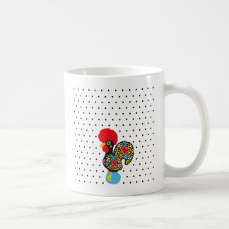 Famous Rooster of Barcelos Nr 06 - Polka Dots Coffee Mug