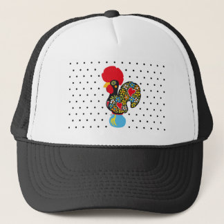 Famous Rooster of Barcelos Nr 06 - Polka Dots Trucker Hat