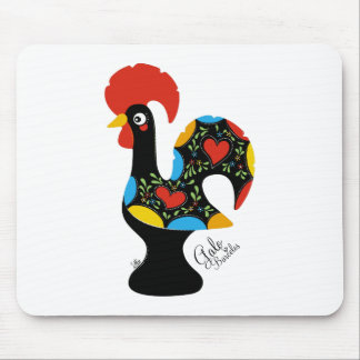 Famous Rooster of Barcelos Nr 09 Mouse Pad
