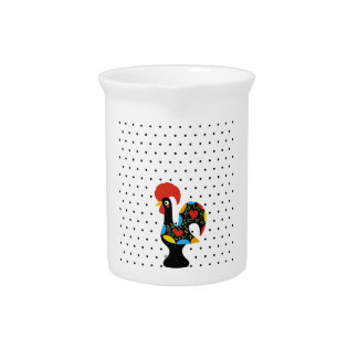 Famous Rooster of Barcelos Nr 09 - Polka Dots Pitcher