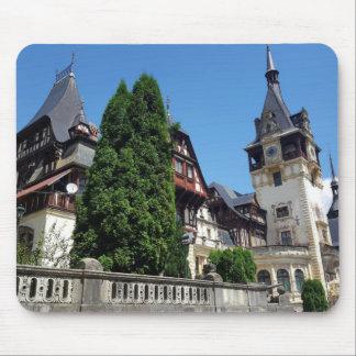 Famous royal castle Peles in Sinaia, Romania. Mouse Pad