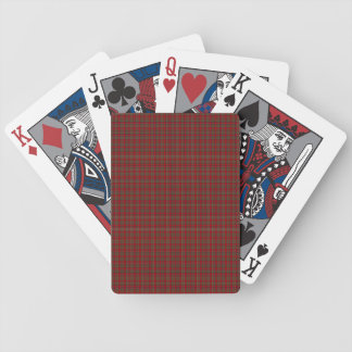 Famous Royal Stewart tartan Bicycle Playing Cards