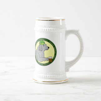 Famous Seamus Lager Irish Wolfhound Stein Coffee Mug