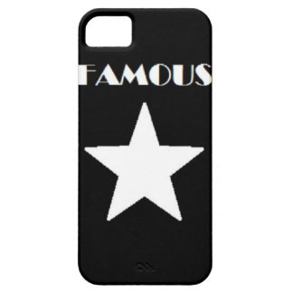 FAMOUS STAR PHONE CASE BLACK AND WHITE iPhone 5 CASES