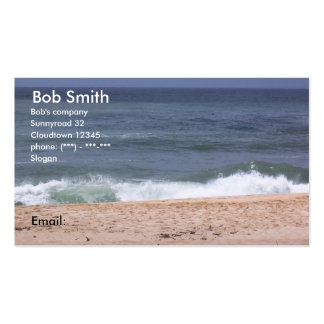 Famous Sunset Beach Oahu Hawaii Business Card