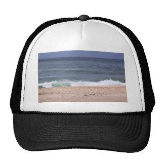 Famous Sunset Beach Oahu Hawaii Mesh Hats