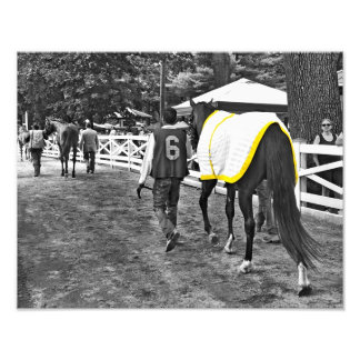 Famous Walk to the Paddock Photo