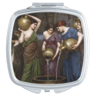 Famous Waterhouse Painting Danaides Compact Mirror