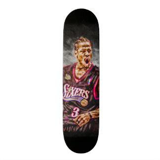 Fan Art Iverson All Natural Element Collector Deck Skateboard