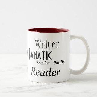 """Fan Fiction Fanatic"" Coffee Mug"