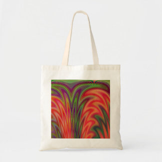 Fan of Colors Abstract Canvas Bags