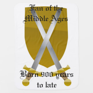 Fan of the Middle Ages Baby Blanket