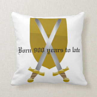 Fan of the Middle Ages Cushions