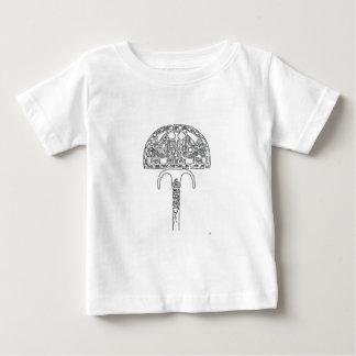 Fan of Tutenkhamun Outline Baby T-Shirt