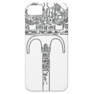 Fan of Tutenkhamun Outline iPhone 5 Cases
