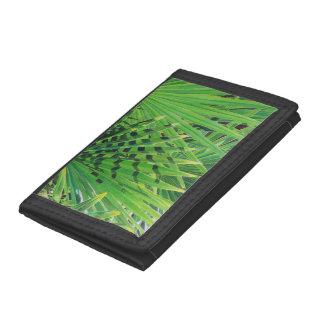 Fan Palm Tri-fold Wallet