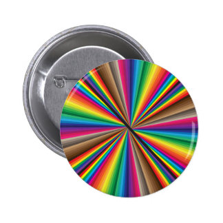 Fan Rotating Color Circle Pinback Buttons