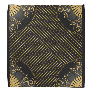 FAN-See in Black and Gold Bandana
