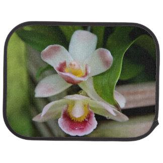 Fan Shaped Orchid Car Mats Car Mat
