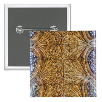 Fan Vaulted Ceiling Pinback Button