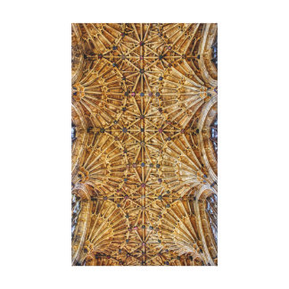 Fan Vaulted Ceiling Canvas Prints