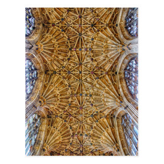 Fan Vaulted Ceiling Postcard