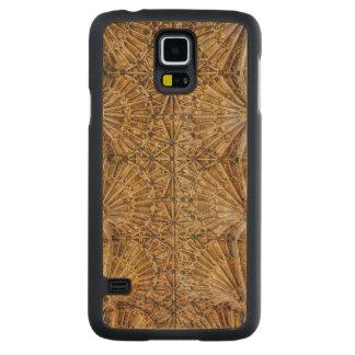 Fan Vaulted Ceiling Maple Galaxy S5 Slim Case