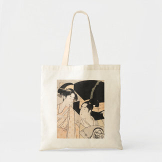 Fan Vendor Kitagawa Utamaro japanese ladies Bags