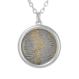 Fanad sand silver plated necklace