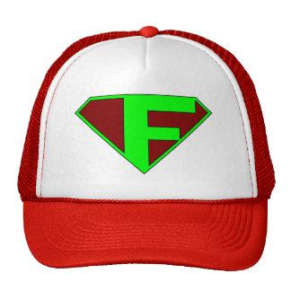 fanboy logo red trucker hat