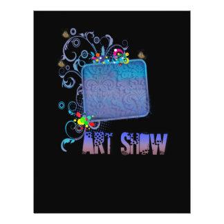 Fancy Art Show 21.5 Cm X 28 Cm Flyer