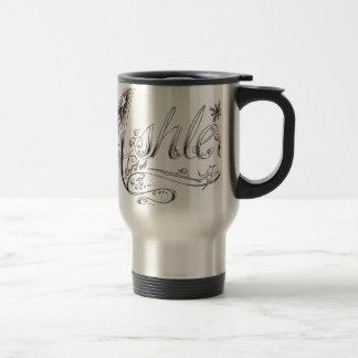 Fancy Ashley Signature Travel Mug