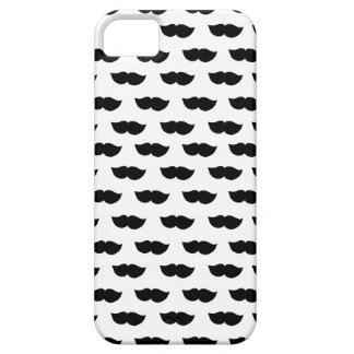 Fancy Black Moustaches Barely There iPhone 5 Case