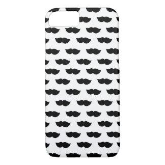 Fancy Black Moustaches iPhone 7 Case