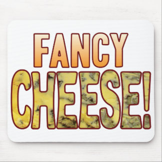 Fancy Blue Cheese Mouse Pad