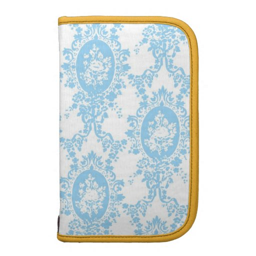 Fancy Blue Smartphone Folio Planner