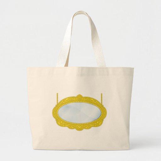 Fancy Boutique Mirror Tote Bags