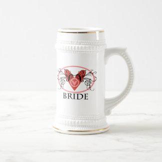 Fancy Bride Beer Steins