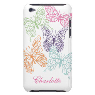 Fancy Butterflies iPod Touch Case-MateBarelyThere iPod Touch Covers