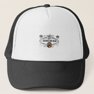 fancy calmed the seas jc trucker hat
