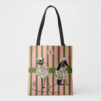 Fancy Cat & Dapper Dog Tote