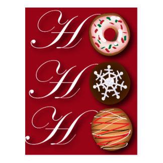Fancy Christmas Hohoho Cookies Postcards