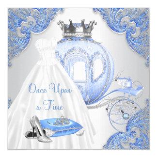 Fancy Cinderella Princess Birthday Party Card
