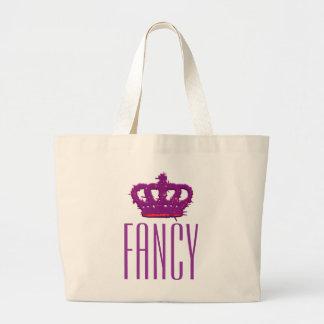 Fancy Crown Jumbo Tote Tote Bags