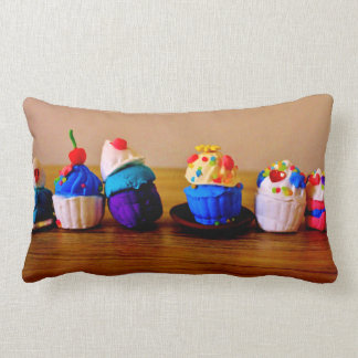 Fancy Cupcakes Lumbar Cushion