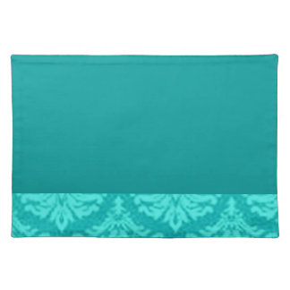 Fancy Dark Teal Placemats