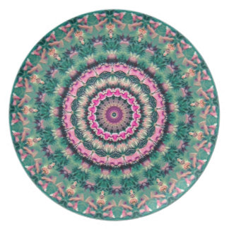 Fancy Decorative Melamine Dinner Plate
