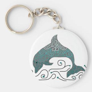 Fancy Dolphin key chain