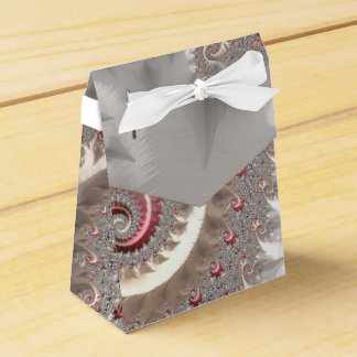 Fancy Elegant Fractals With Cool Mandala Patterns Favour Box